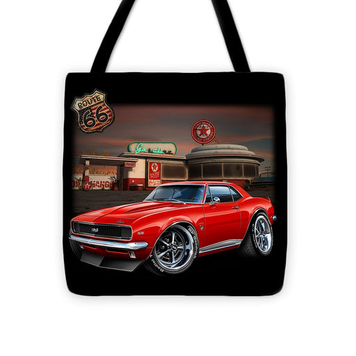 67 Camaro Muscle Car - Tote Bag