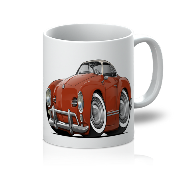 Volkswagen Cartoon Car art 11oz Mug