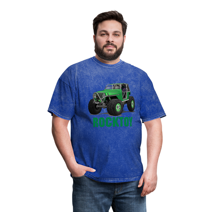 Green Jeep Rocktoy Rock Climber Men's T-Shirt - mineral royal