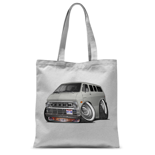 Ford Econoline Hip E Van Classic Sublimation Tote Bag
