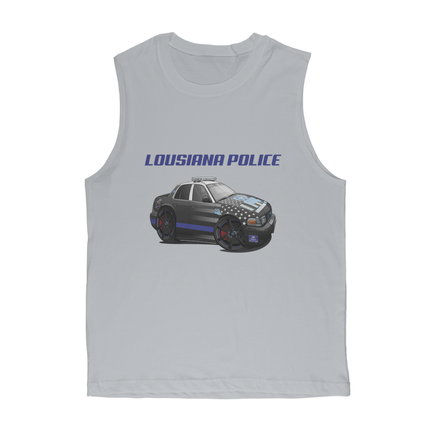 Lousiana Police Premium Adult Muscle Top