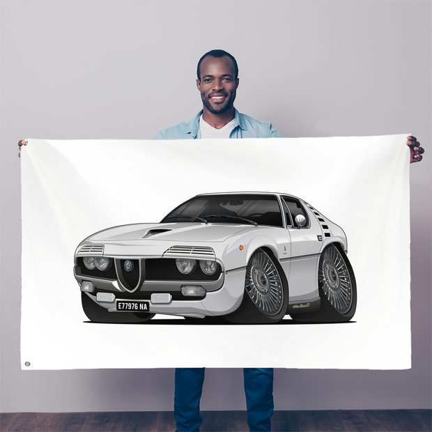 1971 Alfa Romeo Montreal Sublimation Flag