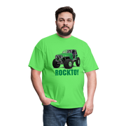 Green Jeep Rocktoy Rock Climber Men's T-Shirt - kiwi