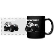 Jeep Renegade CJ Full Color Panoramic Mug - black