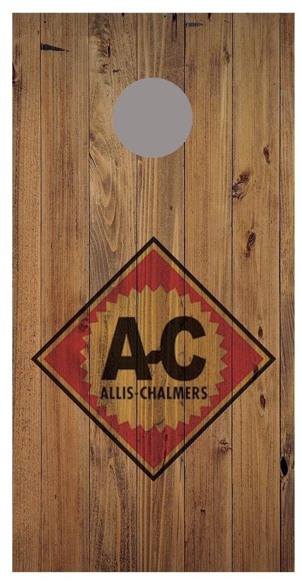 Allis Chalmers Wood Decal Set-2 Decals Bean Bag Toss