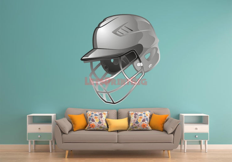 Baseball Helmet Wall Decals - Let's Print Big