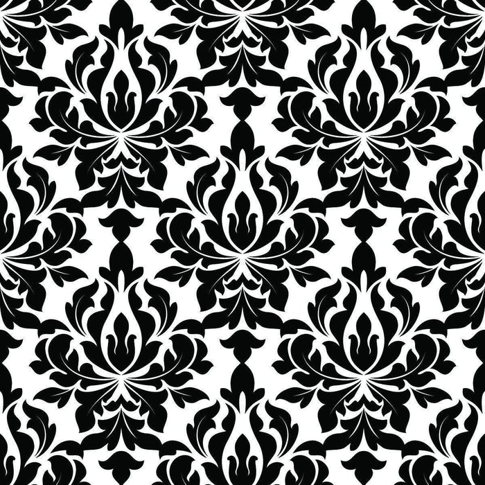 Wallpaper By The Square Foot Black And White Design Pattern