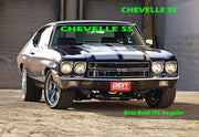 "Windshield Decal ""CHEVELLE SS"" Sticker Banner - Let's Print Big"