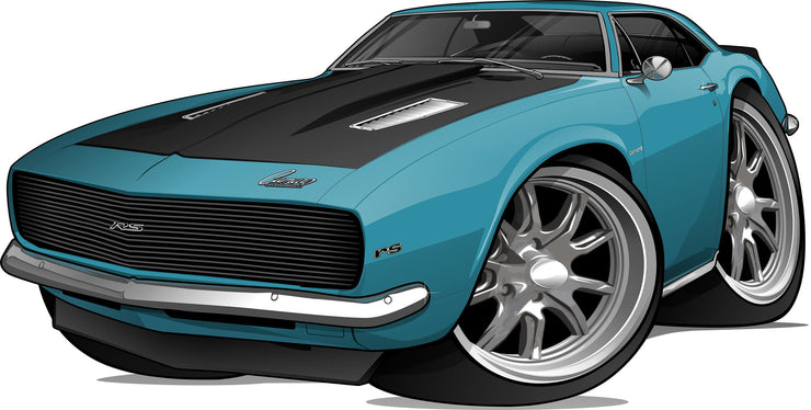 Car Art Turn Your Vehicle into a Cartoon Caricature Design for $99.95