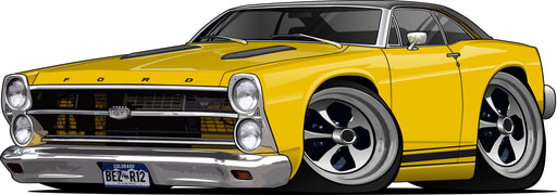 Car Art Turn Your Vehicle into a Cartoon Caricature Design for $129.95