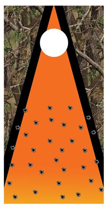 Hunting Target Practice Cornhole Board Decal Wraps