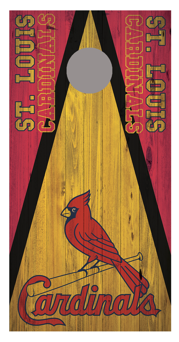 St. Louis Cardnals Cornhole Board Decal Wraps