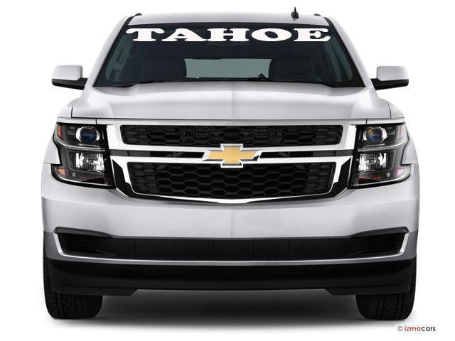 "Windshield Decal ""tahoe"" - Let's Print Big"