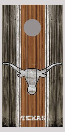 University of Texas Longhorns Cornhole Board Decal Wrap