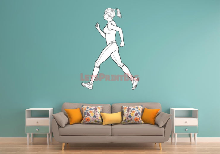 Wall Decals Removable Repositionable Fathead style - Let's Print Big