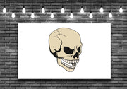 Giant Skull Wall Art Decal Sticker - Let's Print Big