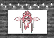 Pink Dream Catcher Wall Art Decal Sticker - Let's Print Big