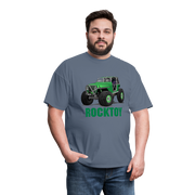 Green Jeep Rocktoy Rock Climber Men's T-Shirt - denim