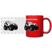 Jeep Renegade CJ Full Color Panoramic Mug - red