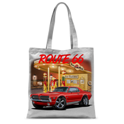 Gas Station 1967 Mercury Cougar Classic Sublimation Tote Bag