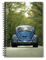 Bug On The Road - Spiral Notebook