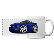 Ford Mustang Convertible Panoramic Mug - white