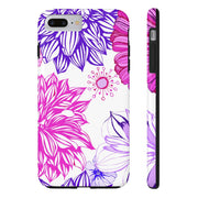 Flower Design Phone Case Iphone Samsung Very High Quality Tough Case