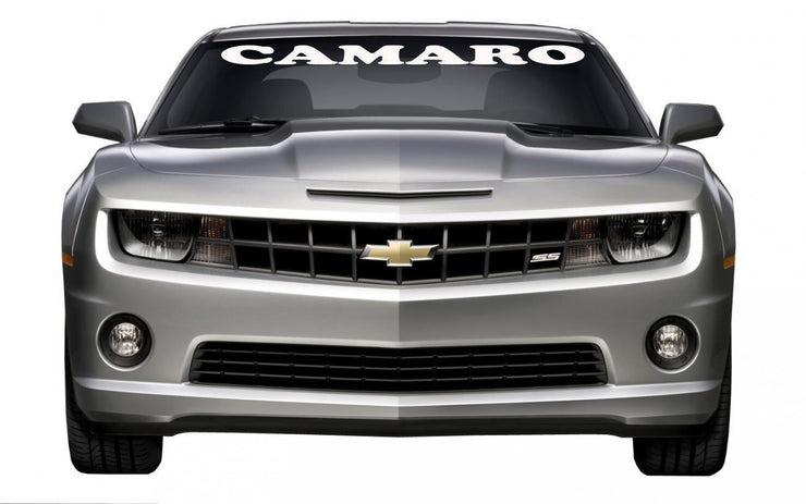 "Windshield Decal ""CAMARO"" - Let's Print Big"