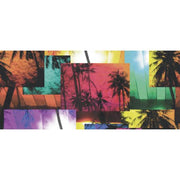 Ocean Beach Palm Trees Vacation Coffee Mug - Let's Print Big