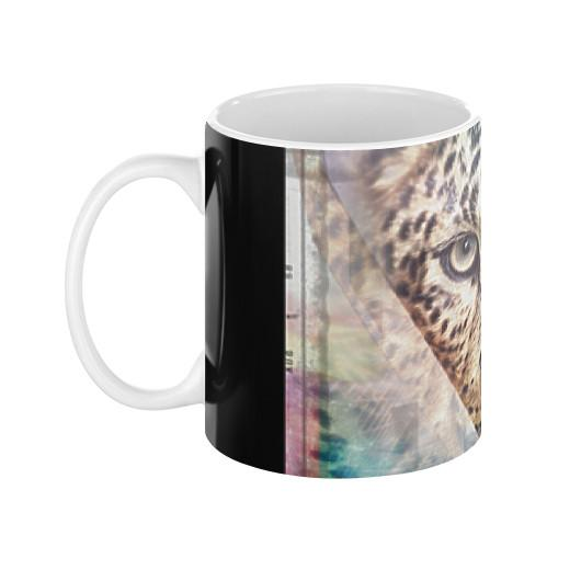 Leopard Cat Coffee Mug - Let's Print Big