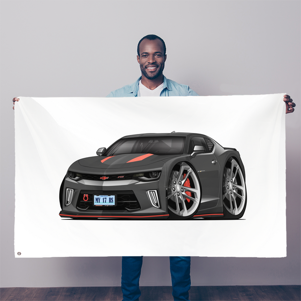 2017 Chevrolet Camaro RS 50th Anniversary Edition Sublimation Flag