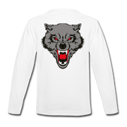 It's Just a Husky Kids' Premium Long Sleeve T-Shirt - white
