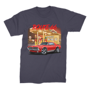 Gas Station 1967 Mercury Cougar Premium Jersey Men's T-Shirt