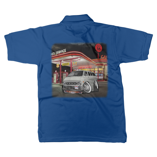 Ford Econoline Hip E Van Classic Women's Polo Shirt