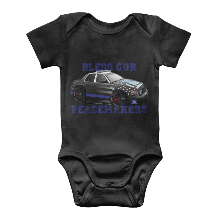 Bless our Peacemakers Classic Baby Onesie Bodysuit