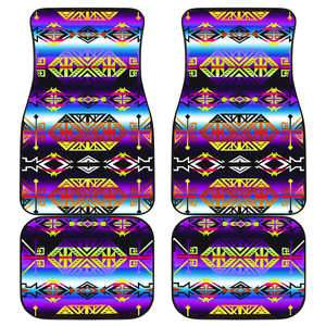 Trade Route West Set of 4 Car Mats Floor Mat