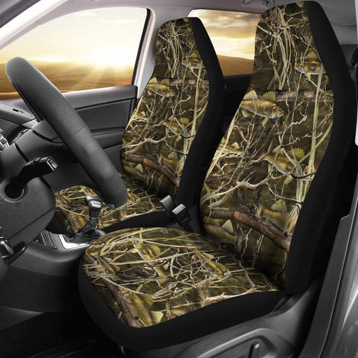 Walleye Camo Designed Seat Covers