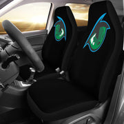 Green Eyeball Seat Covers
