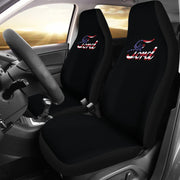 Ford Red White Blue Design Seat Covers
