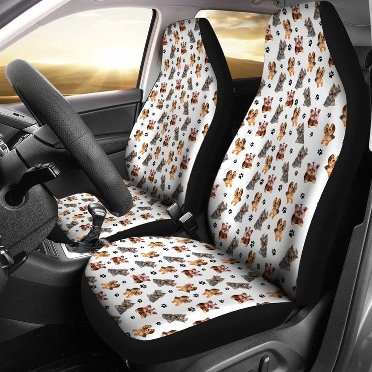 Yorkshire Terrier Car Seat Covers (Set of 2)