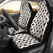 Rottweiler Car Seat Covers (Set of 2)