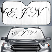 Custom Monogram 1 Sun Shades