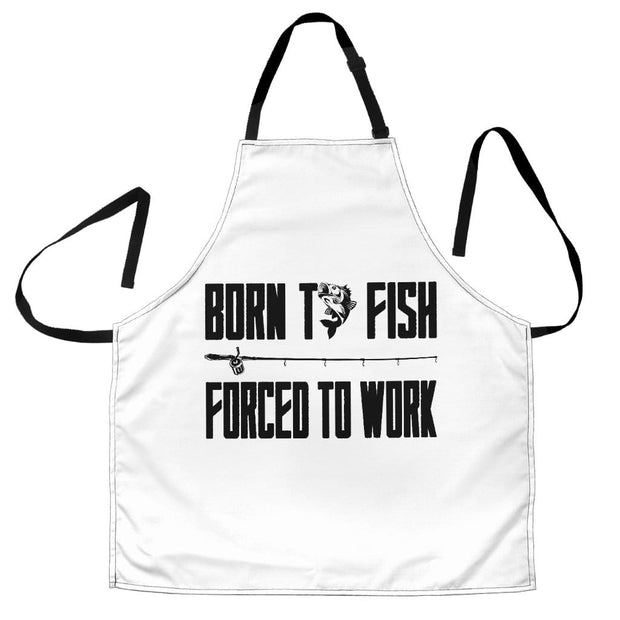 Apron Men Born To Fish