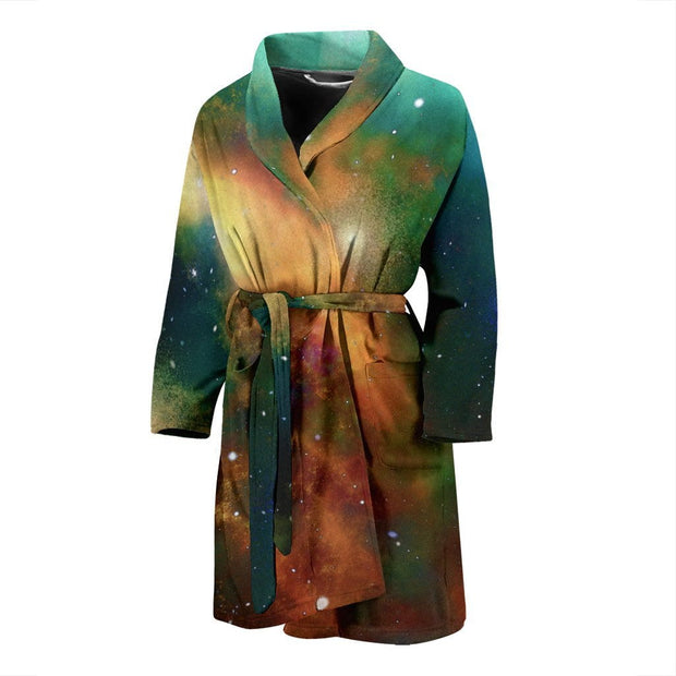 Galaxy Men's Bath Robe