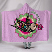 Free As A Bird Hooded Blanket
