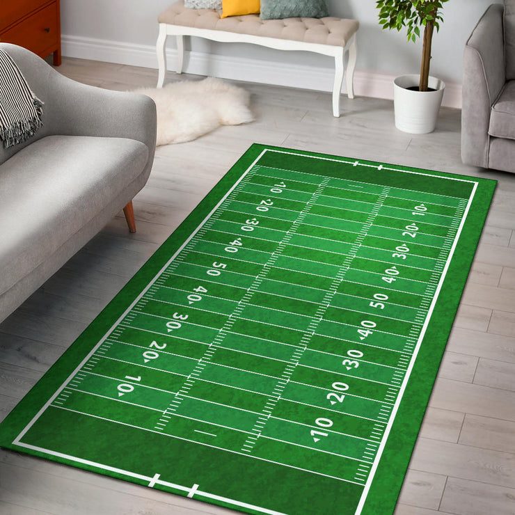 Football Field Area Rug