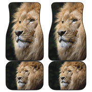 Lion Floor Mats Full Set of 4