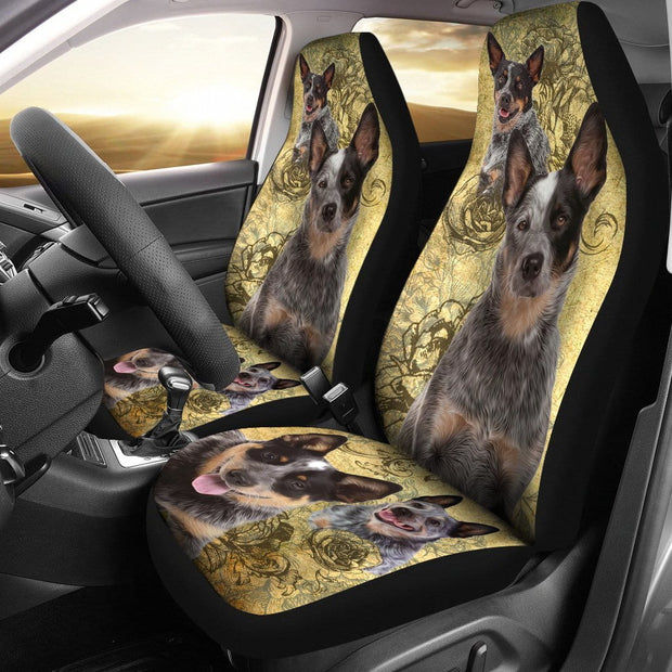 Australian Cattle Car Seat Covers (Set of 2)