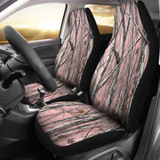 Snowstorm Camo Pink Design Seat Covers