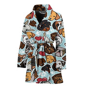 Dog Lovers Women's Bath Robe